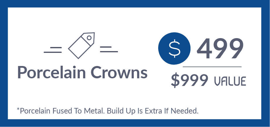 Porcelain Crown Special Coupon